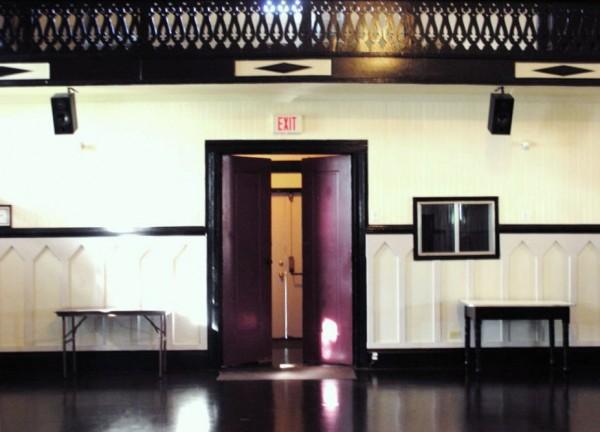 The main entry/exit door