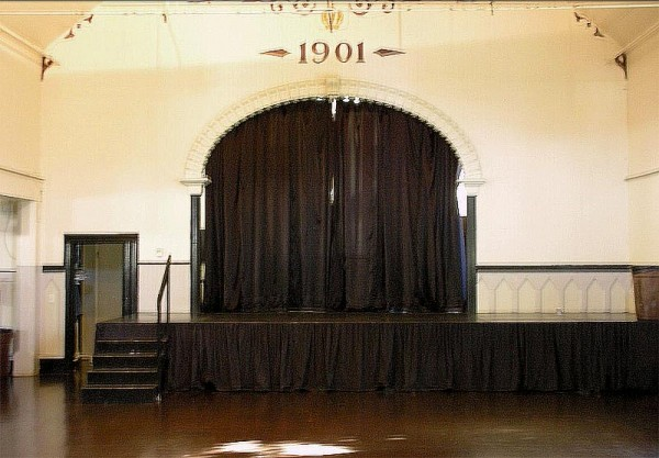 The stage at Crown Hall